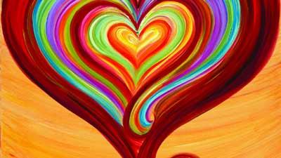 warna warni jantung