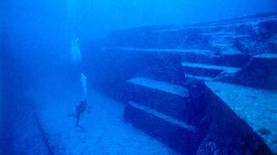 Yonaguni Jima Underwater Ruin