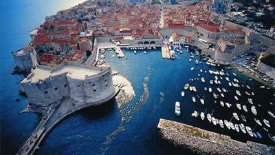 Inilah salah satu kota bertembok menakjubakan di Kroasia, Dubrovnik