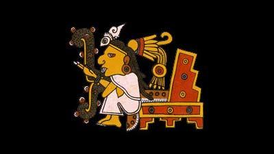 Tecciztecatl dan Nanauatl dalam kisah Aztec mengenai Siang dan Malam