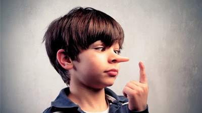 Anak kecil dapat berbohong tanpa pernah diajarkan siapapun