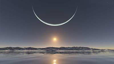 Kisah Anningan dan Malina mengenai mitologi Inuit asal mula bulan dan matahari