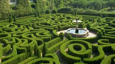 Ashcombe Maze mempunyai 3 labirin yang termasuk di dalamnya adalah labirin terumit di dunia