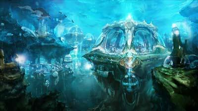 Atlantis, kota hilang paling terkenal di dunia karena peradabannya yang canggih