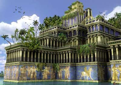 Taman Gantung dari kota hilang Babilon peradaban Babilonia