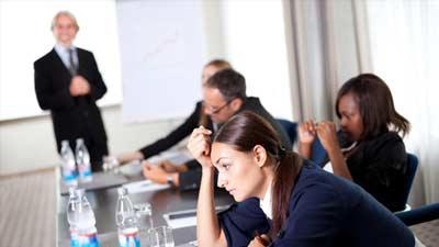 meeting yang buruk dapat berbeda dalam hal kuantitas dan kualitas