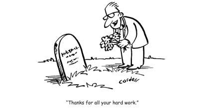 Penyesalan sebelum meninggal: Andaikan saja aku bekerja tidak terlalu keras