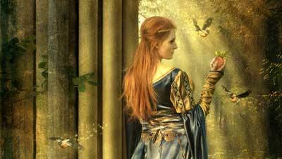 Cliodhna, Dewi Irlandia yang merepresentasikan cinta