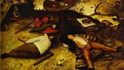 Cockaigne merupakan gambaran surga dalam mitologi eropa abad pertengahan