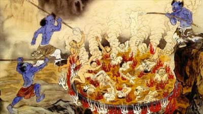Diyu adalah gambaran neraka dalam kepercayaan cina kuno