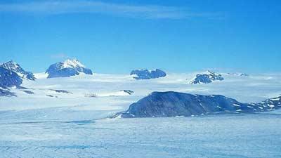 eismitte di Greenland adalah salah satu tempat terdingin yang ada di planet ini