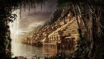 Inilah kota emas yang hilang di dalam hutan, el dorado
