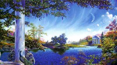 Elysium atau Elysian Land adalah gambaran surga dalam kepercayaan Yunani