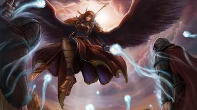 Flokvangr adalah cerminan Valhalla dimana Freyja si Ratu Valkyrie adalah penguasanya