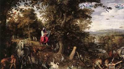 Gan Eden adalah gambaran surga dalam kepercayaan Yuhadi atau Yudaisme