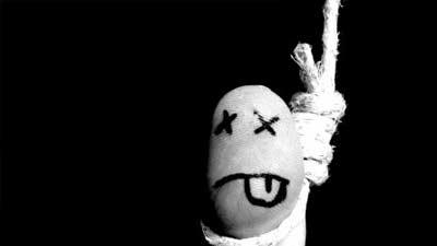 Bunuh diri dengan gantung diri adalah salah satu cara bunuh diri paling menyakitkan