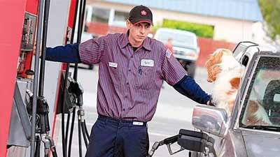 gas station attendant