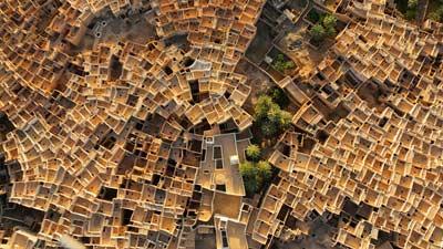 Ghadames di Libya adalah salah satu tempat terpanas yang ada di dunia
