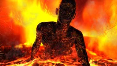 Swedenborg mengatakan bahwa dalam diri manusia ada nerakanya sendiri