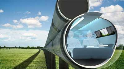 Hyperloop adalah salah satu transportasi masa depan yang diperkirakan akan muncul dalam waktu dekat