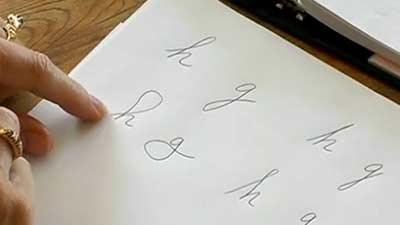 Ilmu grafologi adalah studi mengenai tulisan tangan untuk mengetahui kepribadian seseorang