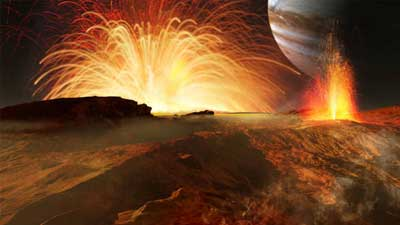 Gunung berapi di Planet Io menyebabkan Io menjadi salah satu tempat paling mengerikan di alam semesta