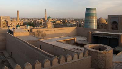 Inilah Itchan Kala, kota bertembok di Uzbekistan