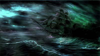 Misteri kapal hantu Young Teazer, apakah kisah di balik cerita kapal hantu ini?