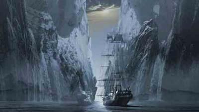 Kisah kapal hantu Octavius alis kapal hantu yang terjebak di dalam es dan lenyap selamanya