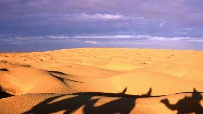 Kebili di Tunisia benar-benar memiliki cuaca yang sangat panas di bumi yakni mencapai 55 derajat