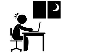 Selalu hindari semua pertanyaan yang membuat Anda terlihat tidak konsentrasi kerja