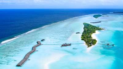 The Maldives adalah salah satu negara terkecil di dunia dengan ukuran anya 115 km persegi