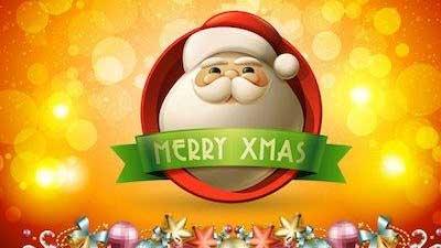 Merry Xmas berasal dari kata Xpiotos Yunani yang juga berarti nama Yesus Kristus