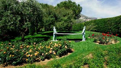 The Princess Grace Rose Garden, tempat paling romantis di Monte Carlo, Monaco