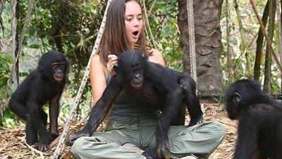 Wanita ternyata sebenarnya terangsang saat melihat monyet kawin