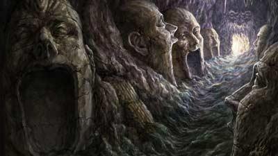 Naraka atau niraya adalah contoh gambaran neraka di dunia