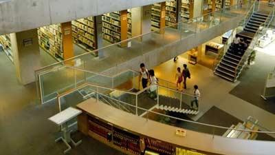 National Diet Library di Tokyo dan Kyoto termasuk dalam perpustakaan terbesar di dunia