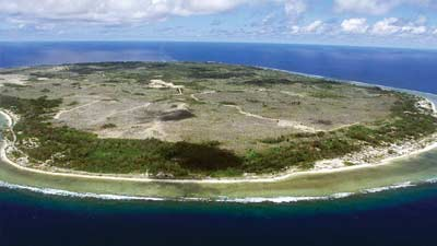 Nauru adalah salah satu negara terkecil di dunia dengan luas hanya 22 km persegi