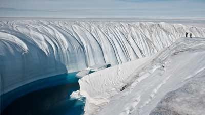 North Ice, Greenland, adalah salah satu tempat terdingin yang ada di dunia