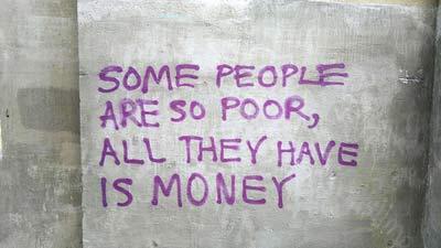 Tidak Semuanya itu Mengenai Uang