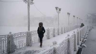 Oymyakon di Rusia merupakan salah satu tempat paling dingin yang adai di dunia