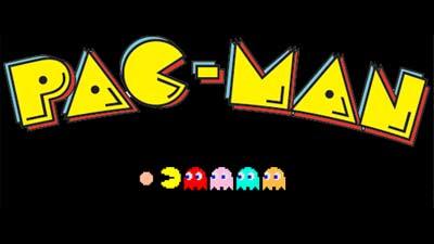 Pacman Logo Title