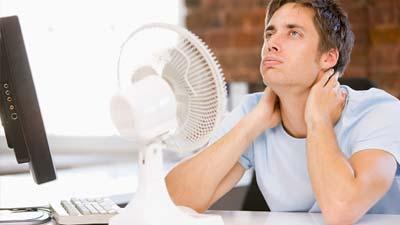 Temperatur paling ideal dalam sebuah kantor adalah 22 derajat Celsius
