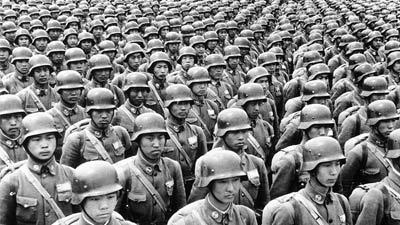 Perang konstan adalah salah satu bukti manusia terlahir jahat