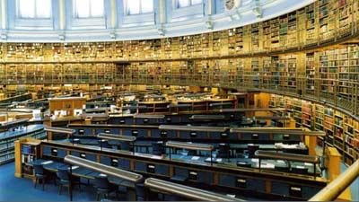British Library adalah perputakaan terbesar di dunia dalam hal koleksi aset perpustakaan
