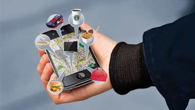 Smartphone telah menggantikan peta dalam kehidupan nyata