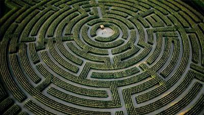 Reignac Sur Indre adalah salah satu labirin terumit yang pernah ada di dunia