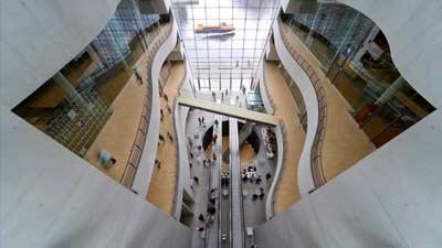Royal Danish Library adalah salah satu perpustakaan terbesar di dunia