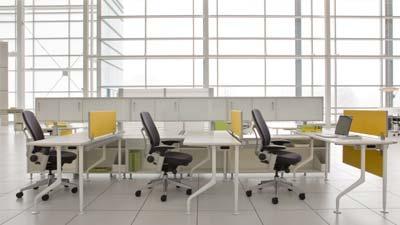 Ruang kerja yang dapat diatur sesuka hati sangat berguna untuk produktivitas karyawan