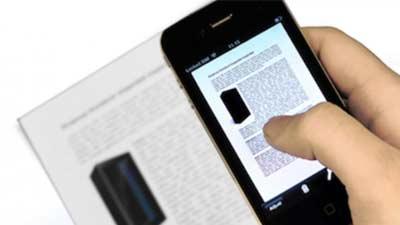 Smartphone dapat digunakan sebagai scanner dokumen apapun